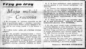 Jalu Kurek – WikiPasy pl - Encyklopedia KS Cracovia